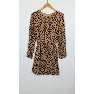 A NEW DAY leopard print dress size XL